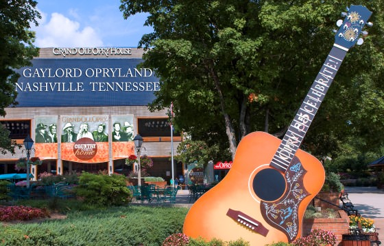 A picture of the Grand Ole Opry House in Nashville, Tennessee