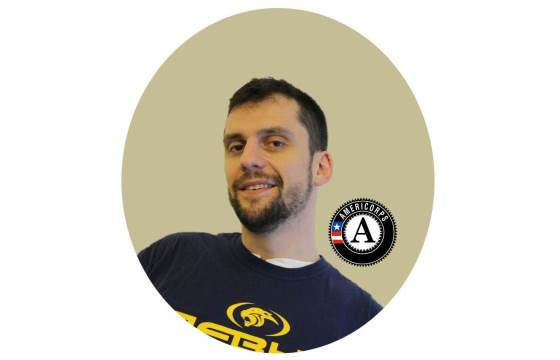 Nick Kaiser, AmeriCorps member in the Relay New York Teaching Residency Program